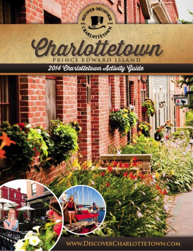 Check out our 2014 Activity Guide to Charlottetown, Prince Edward Island
