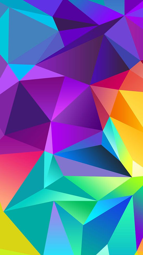 Colorful-Polygon-iPhone-6-Plus-Wallpaper | Abstract HD Wallpapers 2