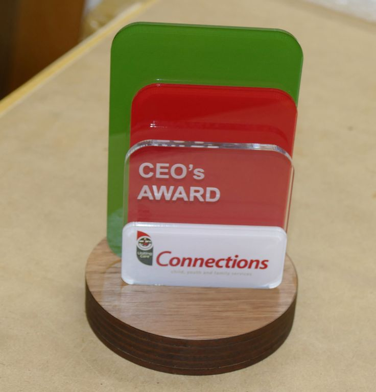 Awards designed and engraved to your company needs send in details for costing