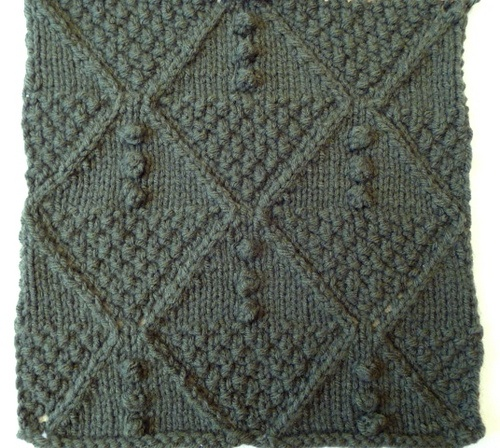 Diamond Afghan Knitting Pattern : 1000+ images about mod/geometric knit stitches on Pinterest Purl bee, Stitc...