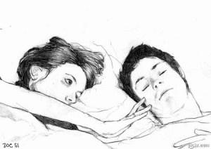 """""""Non ho più voglia di innamorarmi,  solo al pensiero di una che senza un vero motivo  mi invade e tutto distrugge.  E io lì sempre quello che ama di più…  e poi tutte le stronzate… il pensarti…  il voler volere… il voglio… ti voglio… ancora…  No!  Non ho voglia di innamorarmi… e di perdermi…  ho solo voglia di te.""""    Charles Bukowski"""