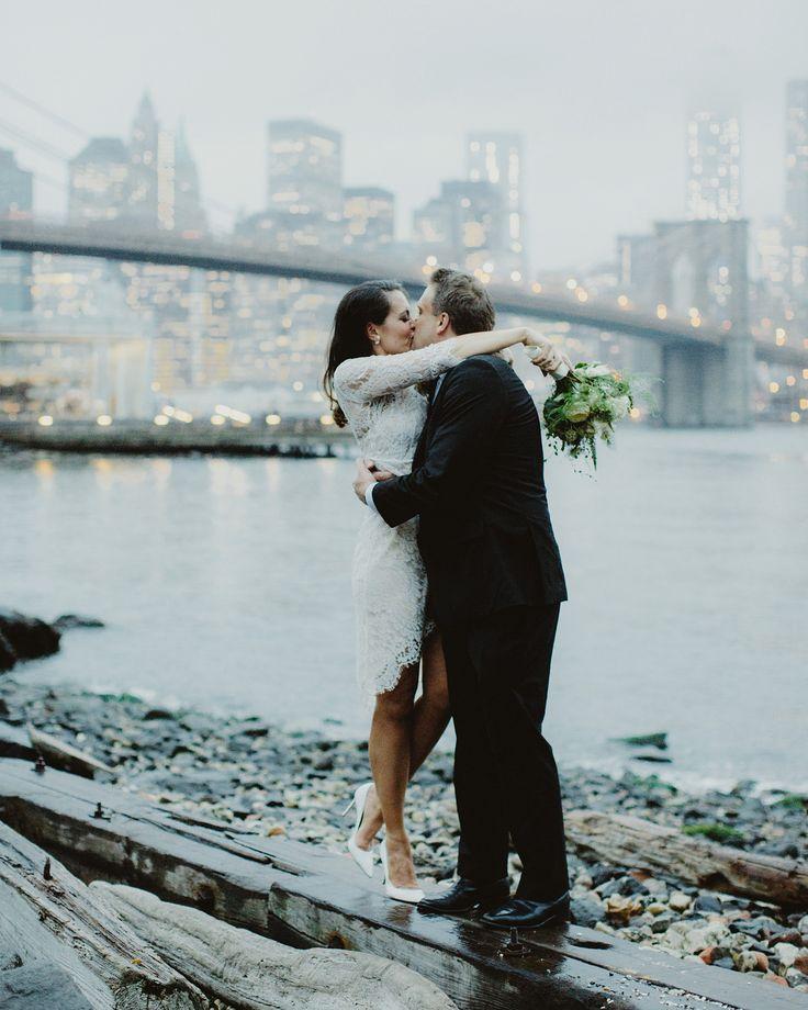New York Elopement. Photo by Samm Blake