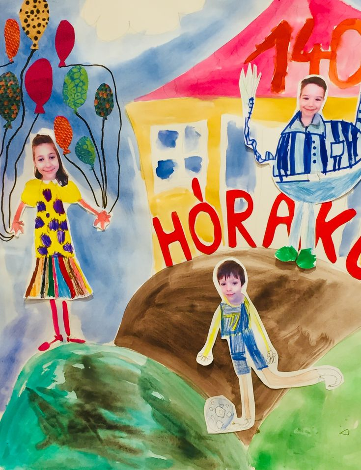 Creative painting by kids