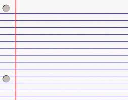notebook paper - Google Search sheets of note book paper have many ...