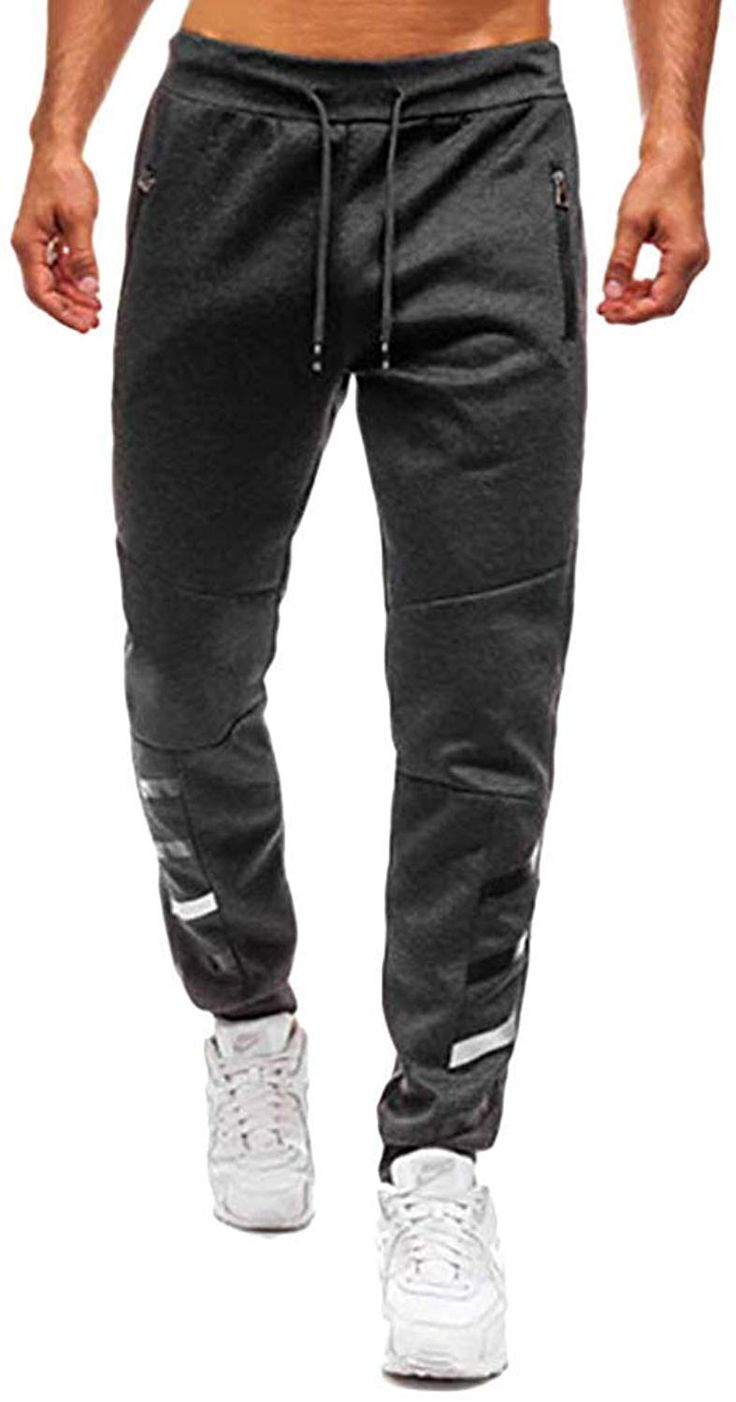 Männer Sporthosen Sweatpants Jogginghose Training Hose Joggers Gym Bottoms H//J
