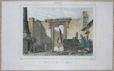 1838 print TEMPLE OF AUGUSTUS, ANKARA, TURKEY (34)