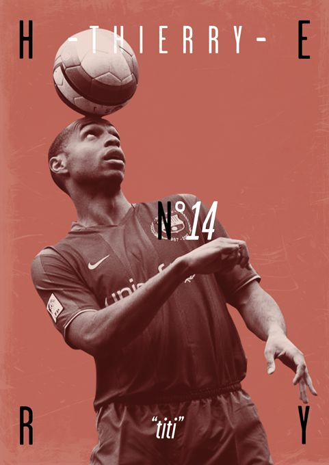 Football Legends by Dylan Giala, via Behance