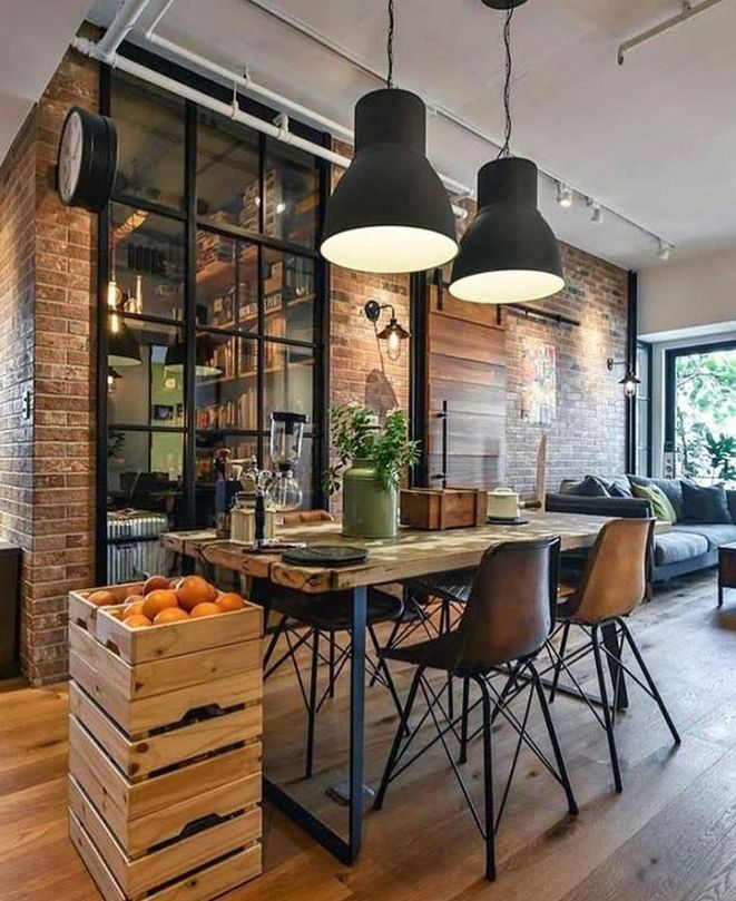 19 The 30 Second Trick For Rustic Industrial Decor Pecansthomedecor Com Industrial Interior Design Industrial Livingroom House Design