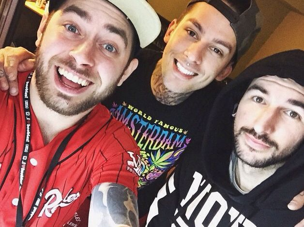Tyler Carter, Michael Bohn, and Mike Fuentes