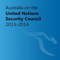 Australia on the United Nations Security Council 2013–2014