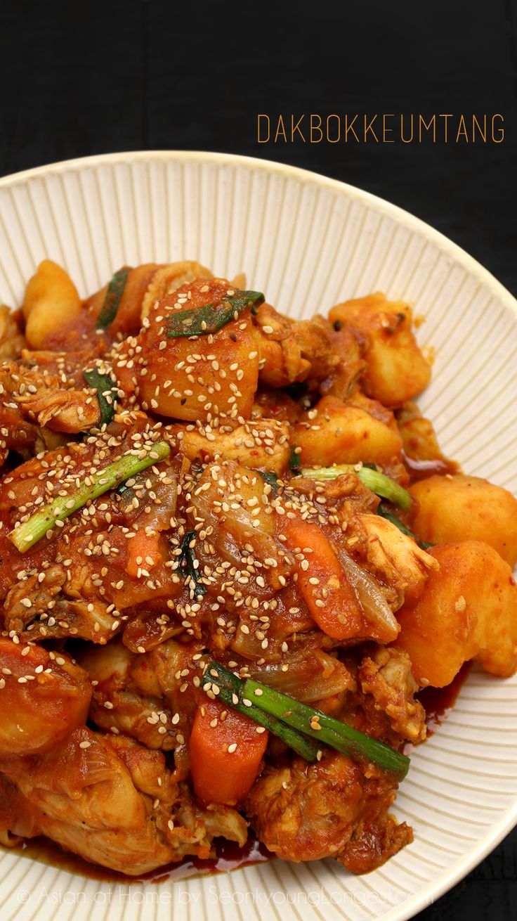 Hi guys! Today I'm going to share one of my comforfood, Dakbokkeumtang! It's Korean spicy chicken stew with simple vegetables such as potato, carrot and onion. The dish has all simple western style ingredients but the seasoning is totally different. So it is a great way to try new flavor with familiar ingredients with you!...Read More »
