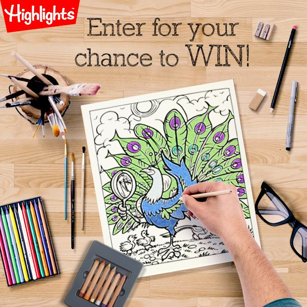 Want A Chance To WIN Copy Of Our Brand New Hidden Pictures Coloring Book For Grown Ups Enter Contest Follow The Link Download And Print