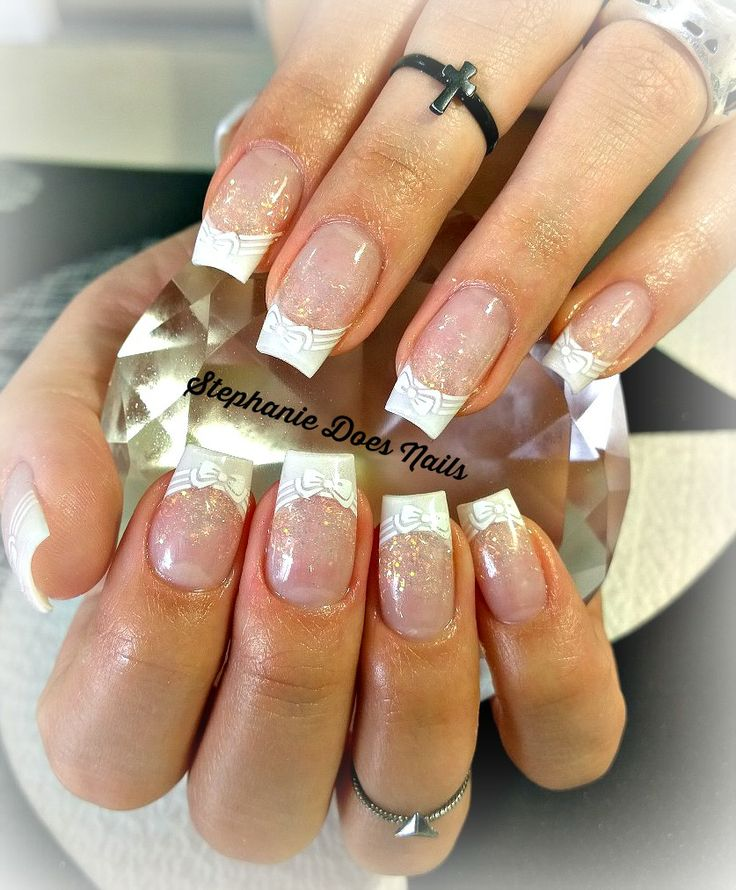 9 best Wedding Nails images on Pinterest | Cute nails, Pretty nails ...