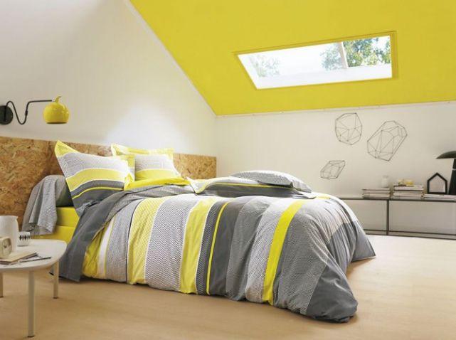Plafond jaune