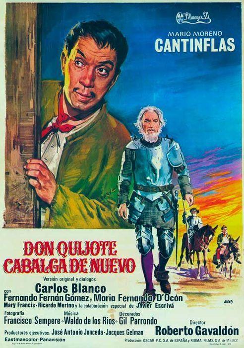 Cantinflas y Fernando Fernán Gómez visitaron juntos las tierras de la Ribera burgalesa y el Palacio de Avellaneda, algo muy apropiado para nuevas correrías (1973).