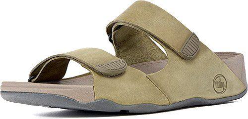 fitflop mens gogh slide adjustable sandal