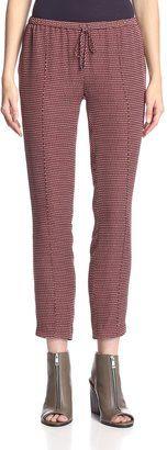 Haute Hippie Original Slim Shady Pants - Shop for women's Pants - Bordeaux/Buff Pants
