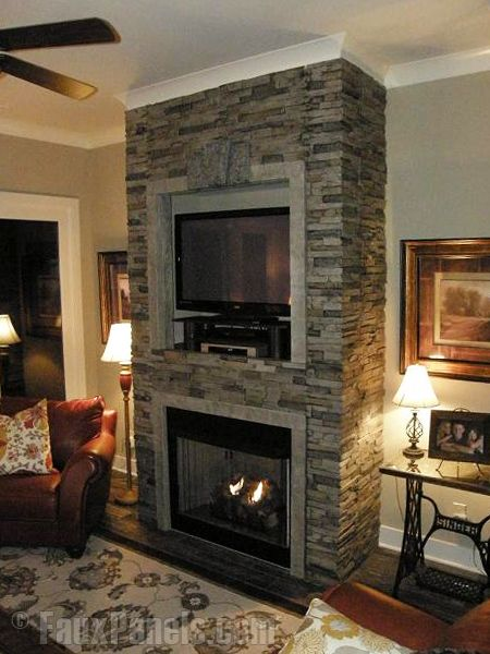 this website has tons of faux stone panels http - Faux Stone Veneer