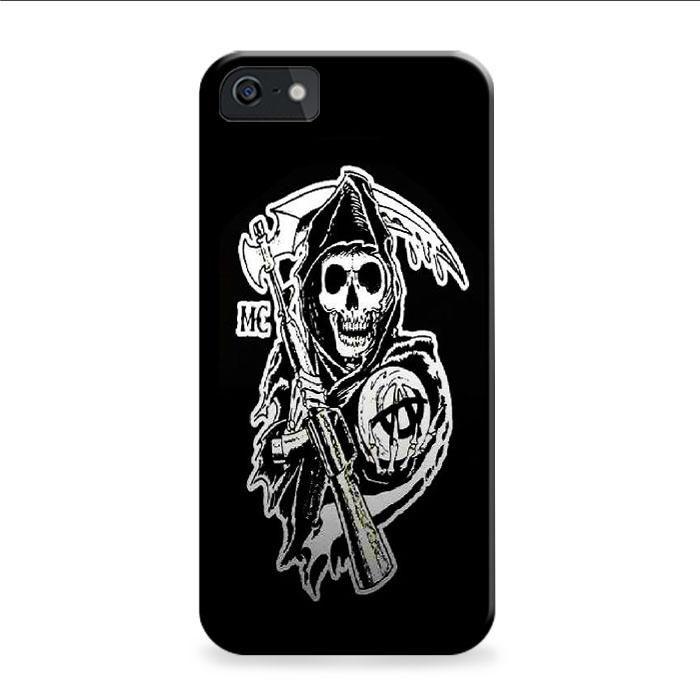Sons Of Anarchy Mc Logo iPhone 6 Plus | 6S Plus 3D Case