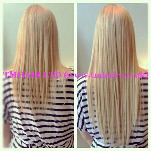 Avant-Apres : www.facebook.com/ Before & After Fitting with Nano Ring Extensions! www.tmhai