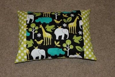 Used this tutorial to make J his cars pillowcase.