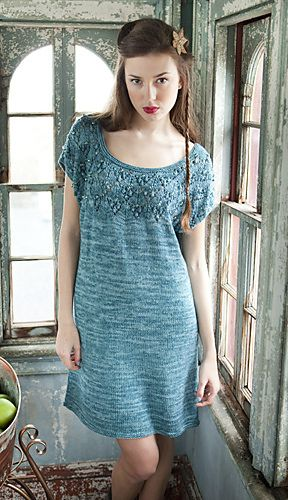 Vogue Knitting Spring 2012  Bobble and bead dress