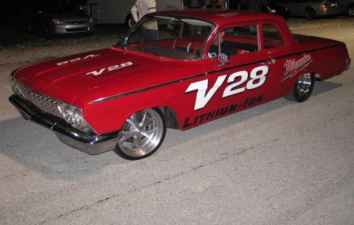 Meet Jesse James's Electric 1962 Bel Air Drag Racer – This Ain't Your Daddies Volt