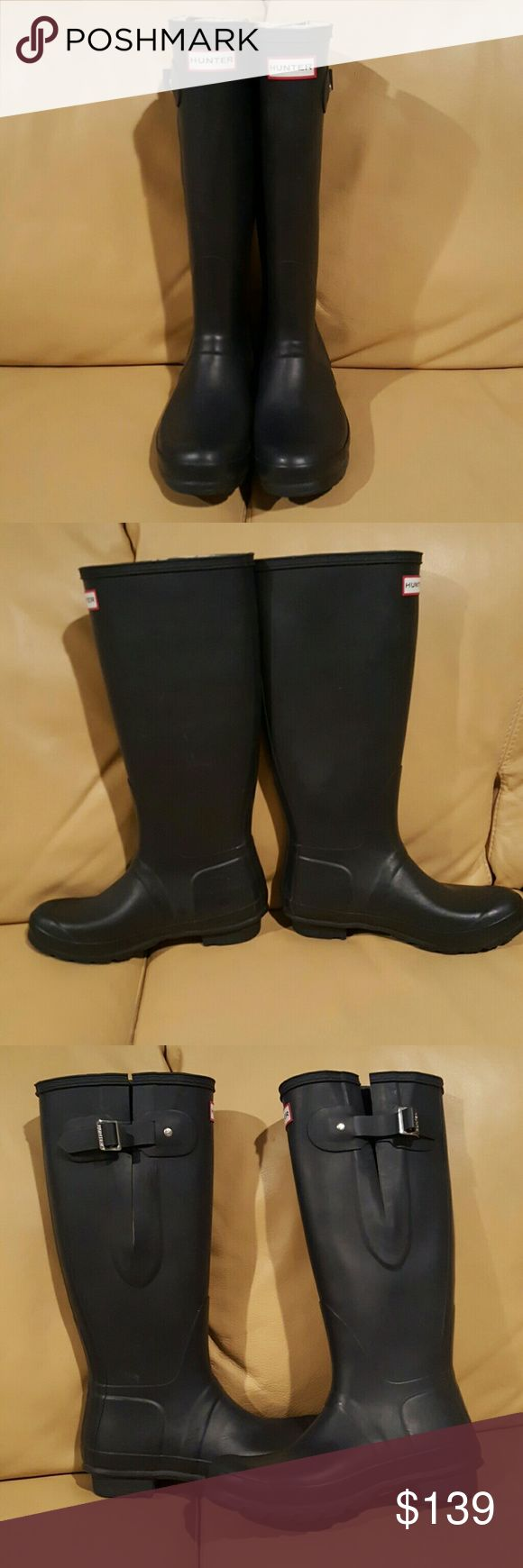 Hunter Adjustable  Women's Rain Boots Brandnew Hunter Boots Shoes Winter & Rain Boots