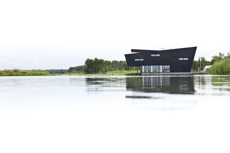 copyright Jorn van Eck natuurbelevingcentrum de Oostvaarders, Oostvaardersplassen, Almere Buiten Drost + Van Veen architecten, Rotterdam