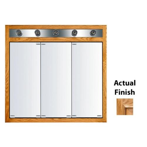 Kraftmaid traditional 35 in x 33 in square surface recessed mirrored w cabinets medicine and - Kraftmaid bathroom cabinets catalog ...
