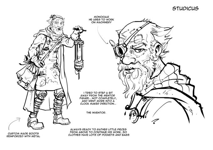 STUDICUS is the guardian of hope. No-one in Acheon has thought more about the state of man than him. He has seen things no-one else has seen. He has thought about things no-one else has thought about. #Akeron #sumbarinechannel #motioncomic #comics #animation #graphicnovel Support us on #kickstarter!