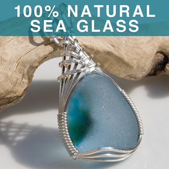 Sea glass jewlery