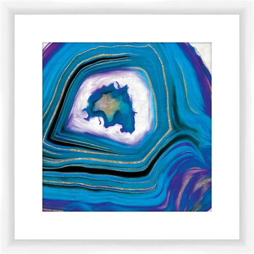 Found it at Wayfair - Geoid II Giclee Print Framed Graphic Art