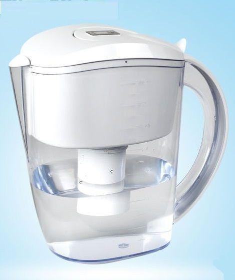 Alkaline Water Plus - Alkaline Plus PH Ionizer Pitcher by WellBlue, $49.95 (http://alkalinewaterplus.com/portable-water-ionizers-filters/alkaline-plus-ph-ionizer-pitcher-by-wellblue/)