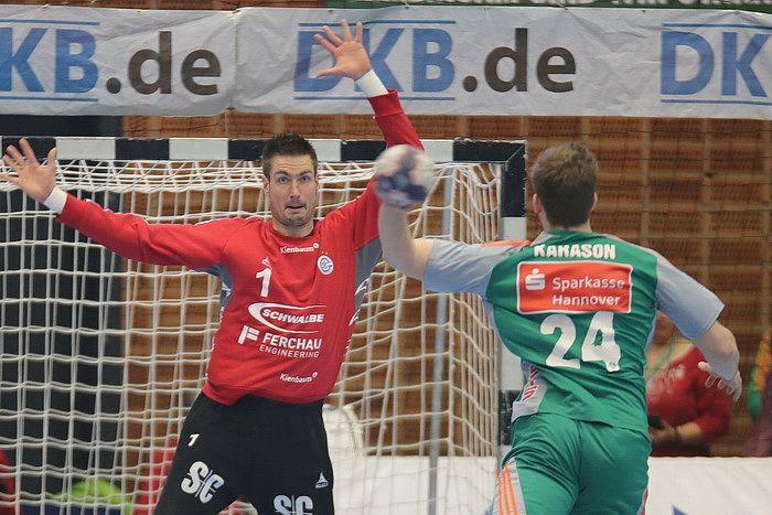 VfL Gummersbach holt verdienten Punkt in Hannover