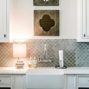 Oil Rubbed Bronze Cabinet Pulls Gray Arabesque Tile
