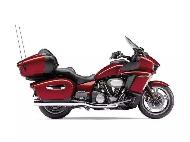 "Yamaha Star motorcycle cruiser line adds all-new 2018 Yamaha Venture ""TransContinental"" long-haul touring motorcycle."