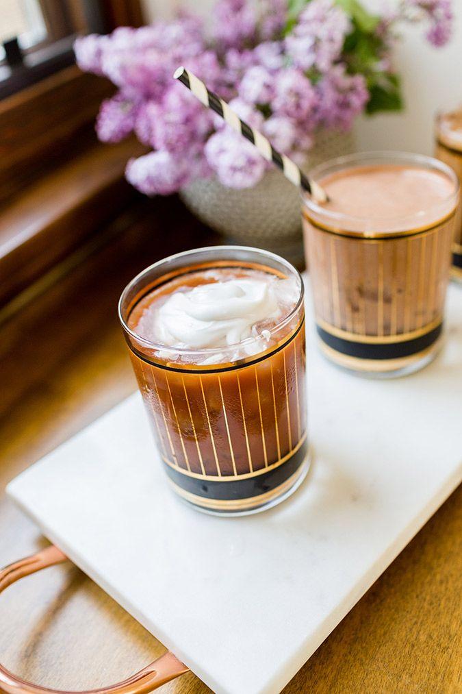 Cacao Mocha with Coconut Cream