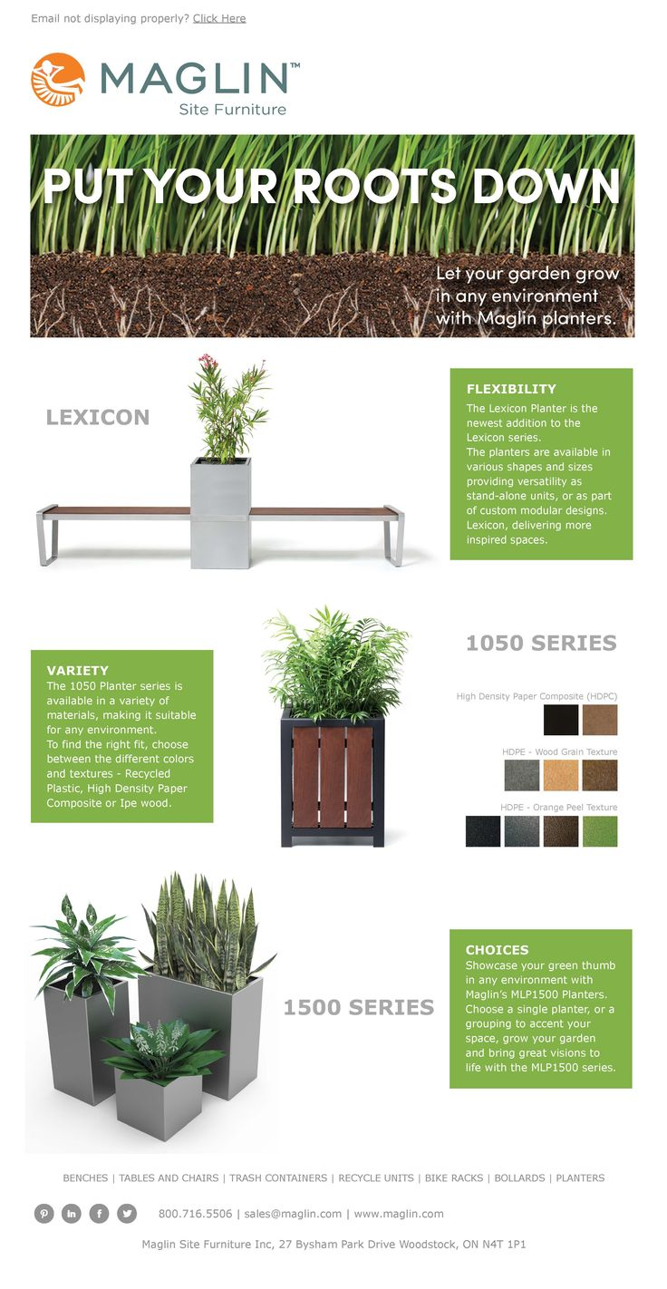 Maglin's New Planter Series! #LEXICON #1050Series #1500Series