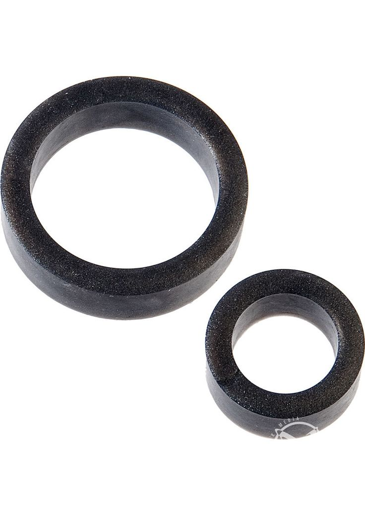 Buy Platinum Premium Silicone The C Rings Cock Ring Double Pack Charcoal online cheap. SALE! $12.49