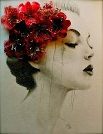 Creative Inspiration: Sketch, Art Inspiration, Illustration, Beautiful, Artsy Fartsy, Beauty, Tattoo, Flower