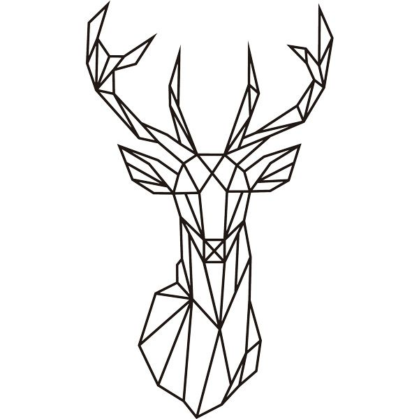 Les 25 meilleures id es de la cat gorie tete de cerf origami sur pinterest deer origami - Tete de cerf origami ...