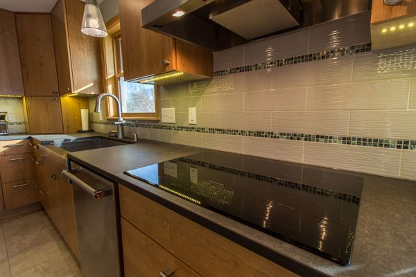 25 best Project 3062-1 Contemporary Green Kitchen Remodel South ...