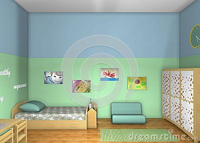 Kids room inspired by Maria Montessori