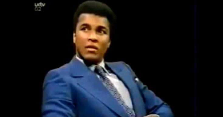 Muhammad Ali's Response To 'Not All White People Are Racists' In This 1971 Interview Is A Must-See