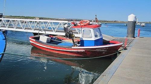 Fishing boat #Santa #Luzia