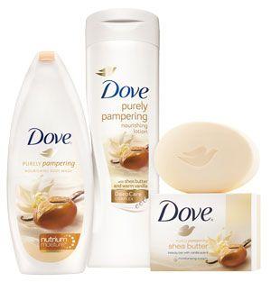 Dove Shea Butter Range