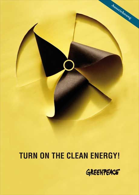 turn on the clean energy! - greenpeace