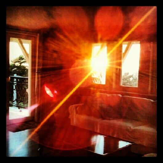 Sunset in the Penthouse Villa Modiva