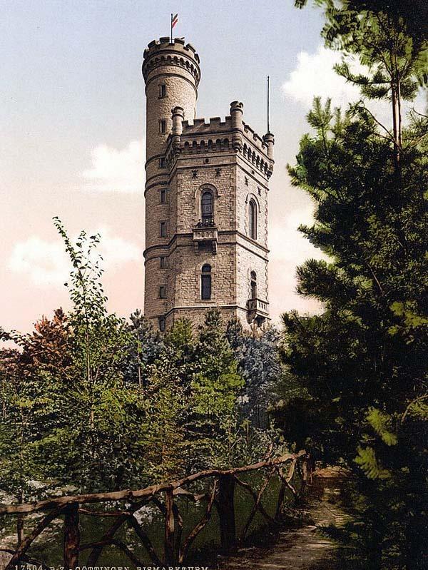 Bismarks Tower, Gottingen, Hartz, Germany